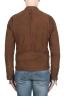 SBU 02078_2020SS Brown suede leather jacket 05