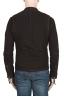 SBU 02079_2020SS Dark brown suede leather jacket 05