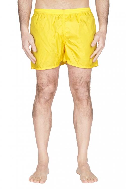 SBU 01752_2020SS Bañador táctico en nylon amarillo ultraligero 01