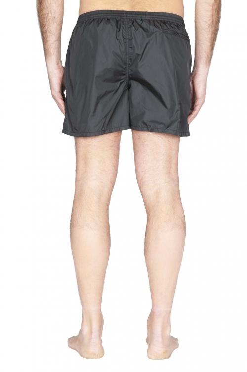 SBU 01753_2020SS Costume pantaloncino classico in nylon ultra leggero nero 01