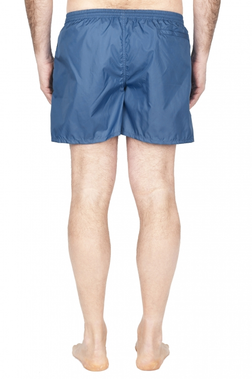 SBU 01754_2020SS Tactical swimsuit trunks in blue ultra-lightweight nylon 01