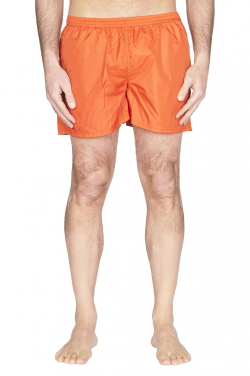 SBU 01755_2020SS Tactical swimsuit trunks in orange ultra-lightweight nylon 01