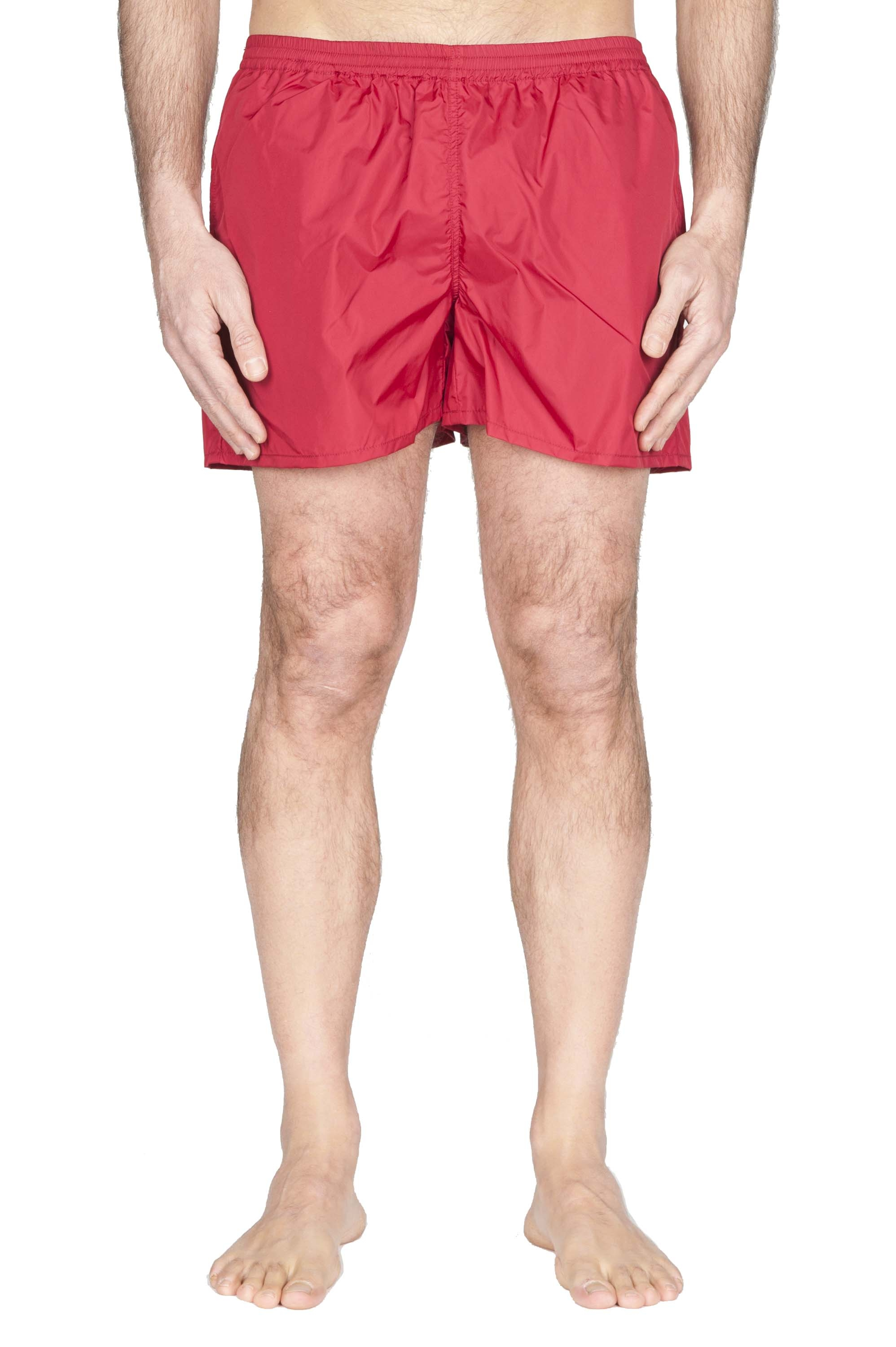 SBU 01760_2020SS Tactical swimsuit trunks in red ultra-lightweight nylon 01
