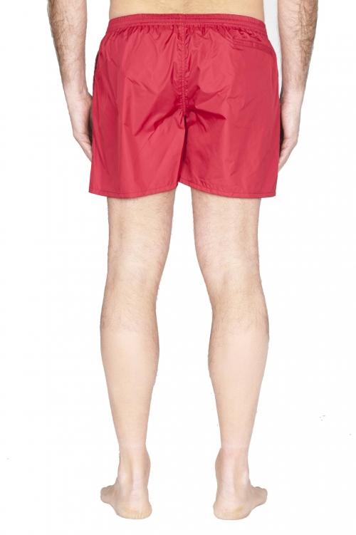 SBU 01760_2020SS Costume pantaloncino classico in nylon ultra leggero rosso 01