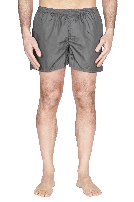 SBU 01761_2020SS Tactical swimsuit trunks in grey ultra-lightweight nylon 01