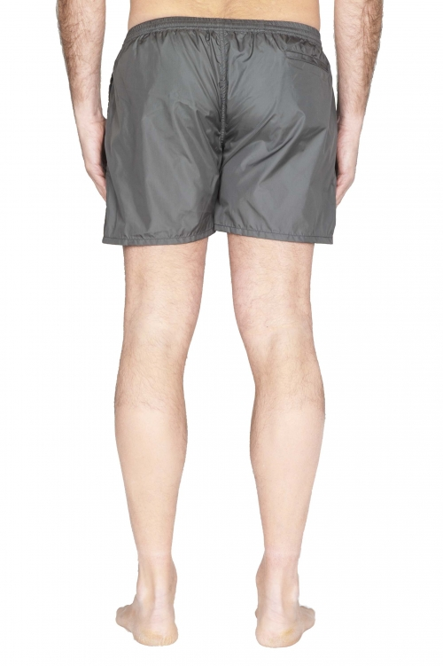 SBU 01761_2020SS Tactical swimsuit trunks in grey ultra-lightweight nylon 01