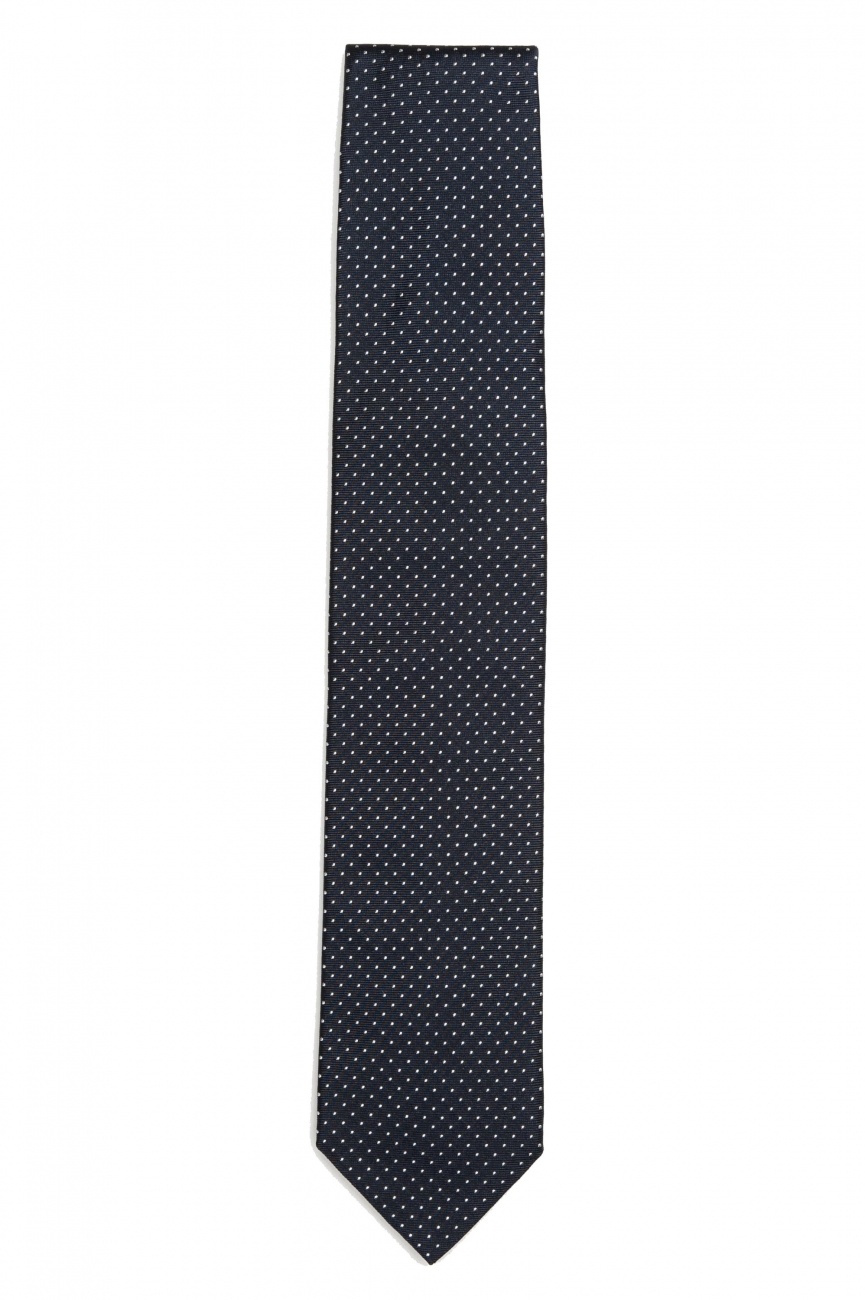 SBU 01575_2020SS Classic handmade pointed tie in silk 01