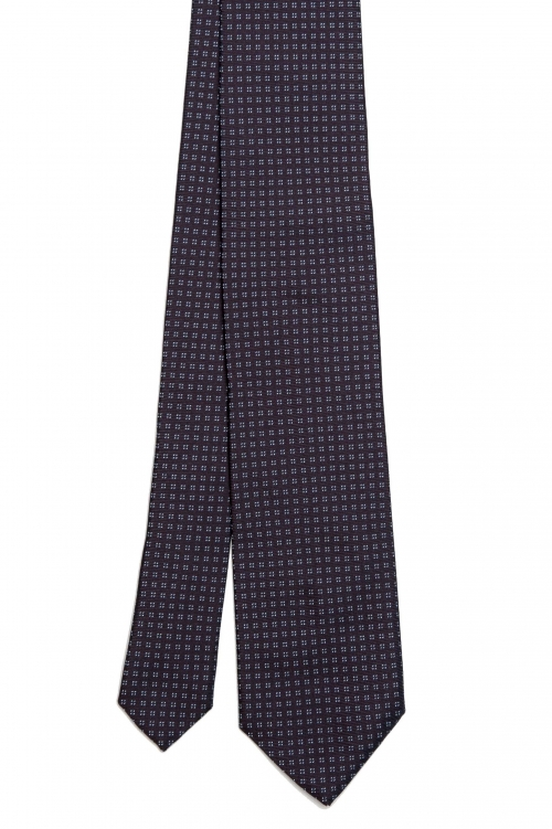 SBU 01579_2020SS Cravatta classica in seta realizzata a mano 01