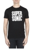 SBU 01799_2020SS T-shirt noir à col rond imprimé à la main 01