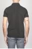 SBU - Strategic Business Unit - Classic Short Sleeve Stone Washed Black Pique Polo Shirt