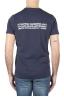 SBU 01788_2020SS Round neck navy blue t-shirt 25 years anniversary print 04