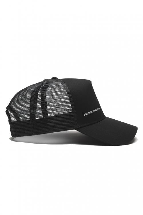 SBU 01791_2020SS Classic cotton trucker cap black 01