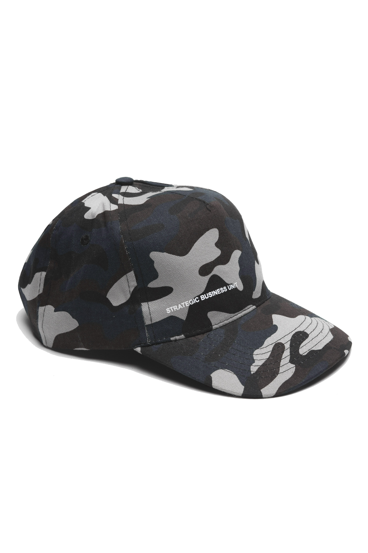 SBU 01810_2020SS Classic cotton baseball cap camouflage blue 01