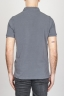 SBU - Strategic Business Unit - Classic Short Sleeve Stone Washed Grey Pique Polo Shirt