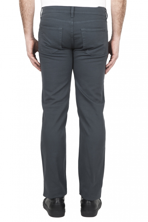 SBU 01667_2020SS Jeans elasticizzato in bull denim sovratinto prelavato grigio 01