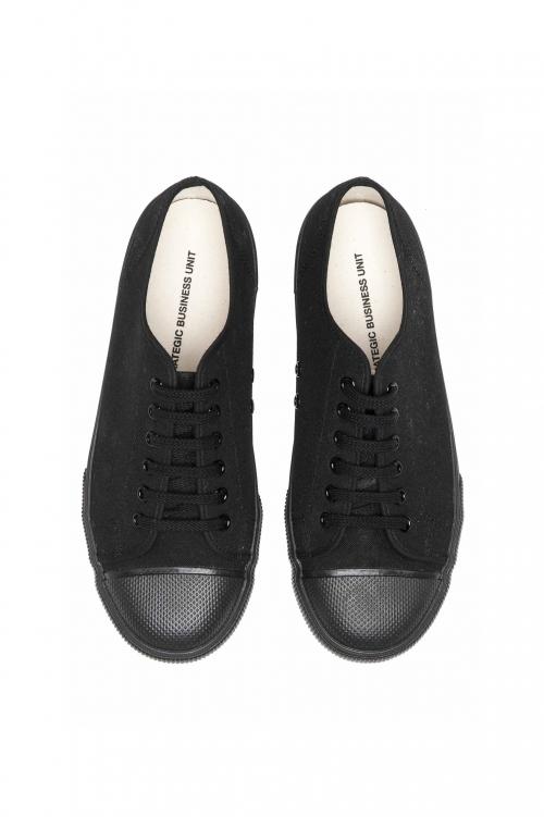 SBU 01532_2020SS Sneakers stringate classiche di canvas nere 01