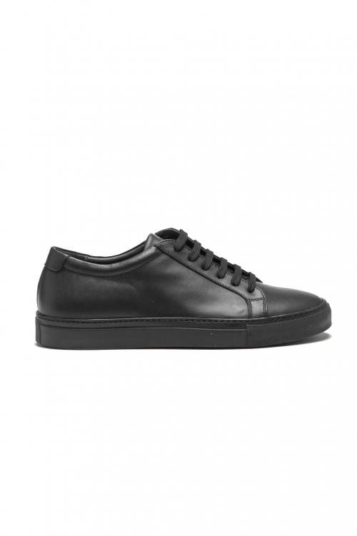 SBU 01527_2020SS Sneakers stringate classiche di pelle nere 01