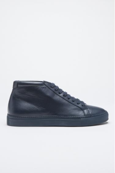 SBU - Strategic Business Unit - Sneakers Alte Classiche Di Pelle Blue