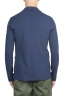 SBU 01739_2020SS Blazer en algodón elástico azul cruzado 04