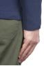 SBU 01739_2020SS Blazer en coton bleu à boutonnage simple 05