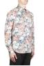SBU 02002_2020SS Camisa naranja de algodón estampada 02