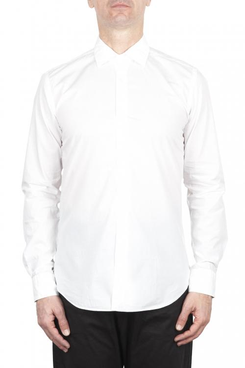 SBU 02007_2020SS 白い超軽量コットンシャツ 01