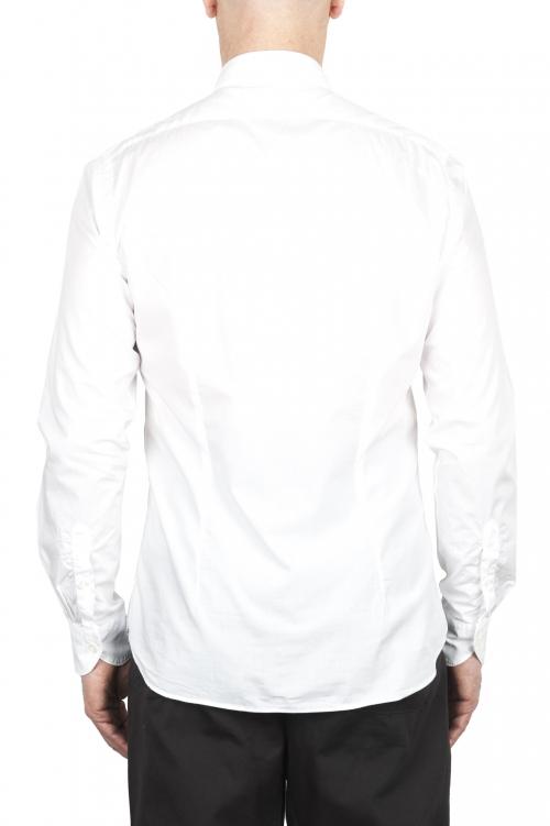 SBU 02007_2020SS Camicia in cotone super leggero bianco 01