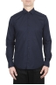 SBU 02008_2020SS Camisa super ligera de algodón azul 01