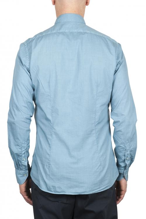 SBU 02010_2020SS Chemise en coton super léger bleu clair 01