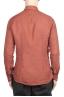 SBU 02020_2020SS Camicia classica in lino rosso mattone 05