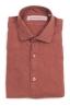 SBU 02020_2020SS Camicia classica in lino rosso mattone 06