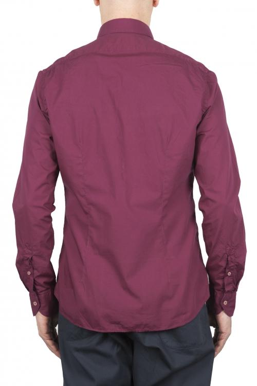 SBU 02009_2020SS Camisa roja super ligera de algodón 01