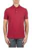 SBU 02036_2020SS Classic short sleeve red cotton crepe polo shirt 01