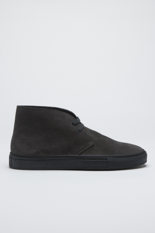SBU - Strategic Business Unit - Original Chukka Boots Mid Top Di Pelle Scamosciata Grigia
