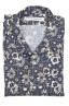 SBU 02833_2020S Camisa de algodón azul estampada hawaiana 06