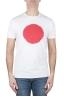 SBU 02848_2020SS T-shirt girocollo classica a maniche corte in cotone grafica stampata rossa e bianca 01
