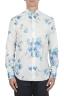 SBU 02850_2020SS Camisa clásica de algodón y lino floral 01