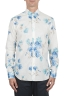 SBU 02850_2020SS Classic cotton and linen floral shirt 01