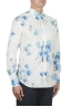 SBU 02850_2020SS Camisa clásica de algodón y lino floral 02