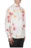 SBU 02851_2020SS Camicia in cotone e lino stampa floreale 02