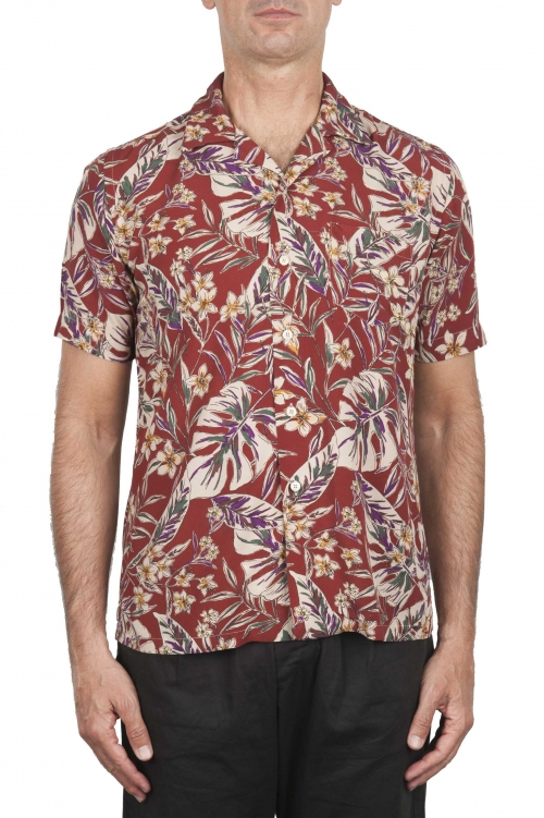 SBU 02852_2020SS Hawaiian floral print shirt 01