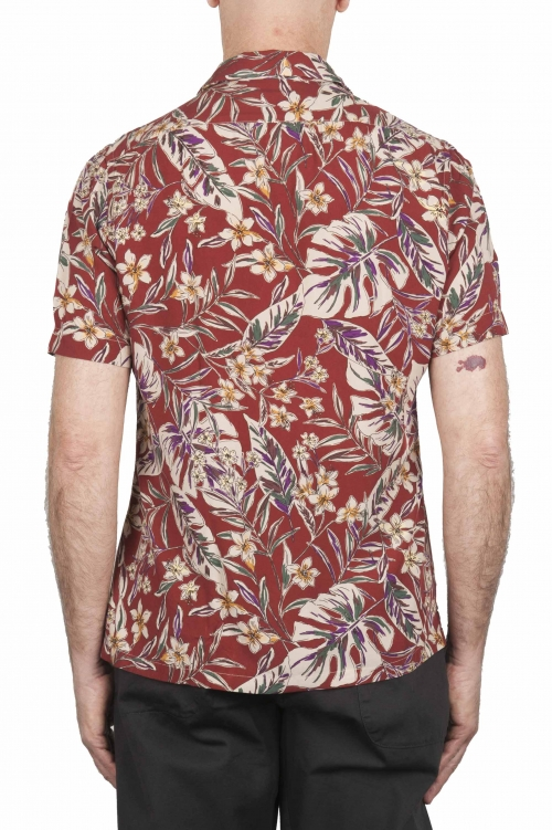 SBU 02852_2020SS Camisa estampada floral hawaiana 01