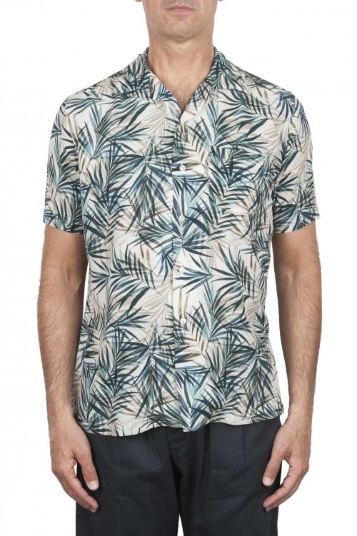 SBU 02853_2020SS Chemise à imprimé floral hawaïen 01