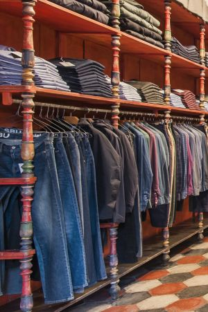 SBU shop jeans denim, boutique en ligne, Rome Italie